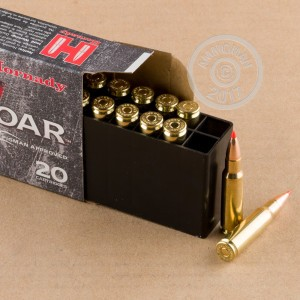 Photo of 6.8 SPC GMX ammo by Hornady for sale.