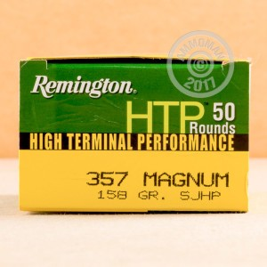 Image of 357 Magnum ammo by Remington that's ideal for home protection.