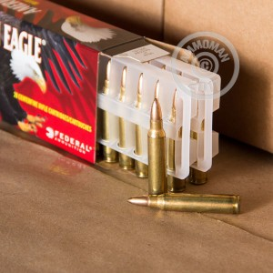 Photo of 223 Remington JHP ammo by Federal for sale.