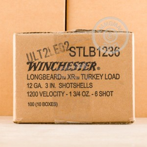 ammo made by Winchester with a 3