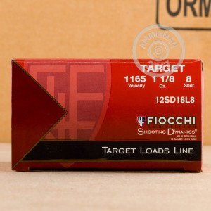 Great ammo for target shooting, these Fiocchi rounds are for sale now at AmmoMan.com.