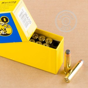 A photo of a box of Buffalo Bore ammo in 460 Smith & Wesson.