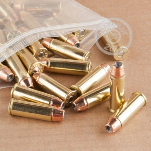 Image of 44 Remington Magnum ammo by DRS that's ideal for home protection.
