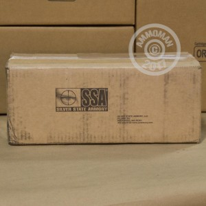 A photograph of 20 rounds of 150 grain 308 / 7.62x51 ammo with a Nosler AccuBond bullet for sale.
