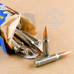 A photo of a box of Silver Bear ammo in 308 / 7.62x51.