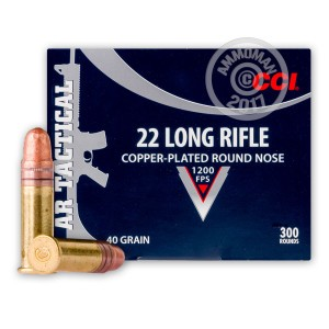 Image of CCI .22 Long Rifle bulk rimfire ammunition.