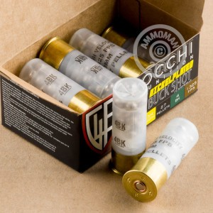 Great ammo for hunting or home defense, these Fiocchi rounds are for sale now at AmmoMan.com.