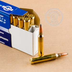 Image of 300 Winchester Magnum pistol ammunition at AmmoMan.com.