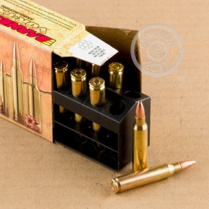 An image of 223 Remington ammo made by Barnes at AmmoMan.com.