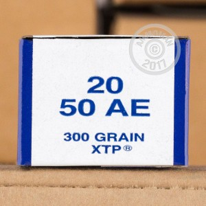 Photo of 50 Action Express JHP ammo by Armscor for sale at AmmoMan.com.