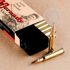 A photo of a box of Hornady ammo in 30.06 Springfield.