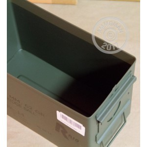 Image of the 50 CALIBER AMMO CAN WITH RIO M855 MARKINGS available at AmmoMan.com.