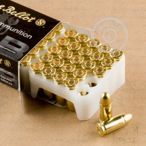 Photo of .32 ACP FMJ ammo by Sellier & Bellot for sale at AmmoMan.com.