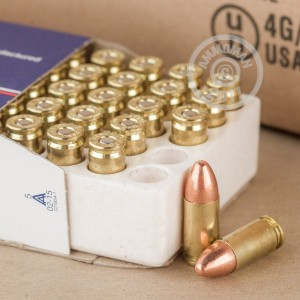 A photo of a box of Ultramax ammo in 9mm Luger.