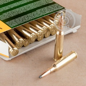 An image of 6.5 x 55 Swedish ammo made by Sellier & Bellot at AmmoMan.com.