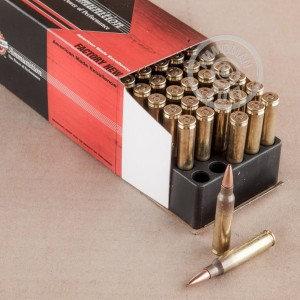 Photo of 5.56x45mm TSX ammo by Black Hills Ammunition for sale.