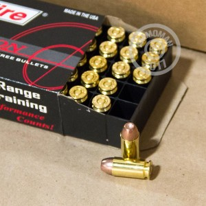 Image of .40 Smith & Wesson ammo by SinterFire that's ideal for shooting steel targets.
