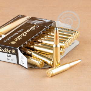 Photo of 308 / 7.62x51 soft point ammo by Sellier & Bellot for sale.