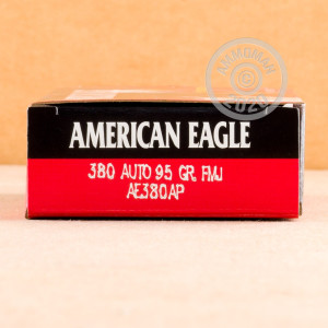 Image of .380 Auto ammo by Federal that's ideal for training at the range.