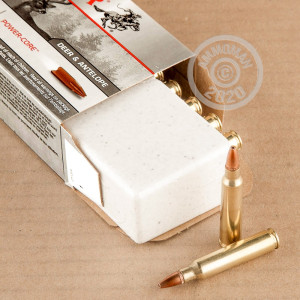 Photo detailing the 223 REMINGTON WINCHESTER SUPER-X POWER CORE 95/5 64 GRAIN HP (20 ROUNDS) for sale at AmmoMan.com.