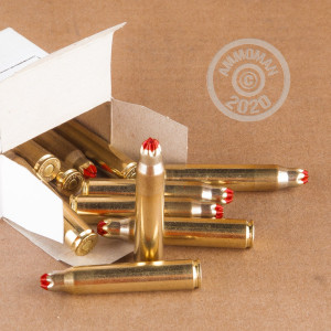Image detailing the brass case and boxer primers on 810 rounds of Prvi Partizan ammunition.