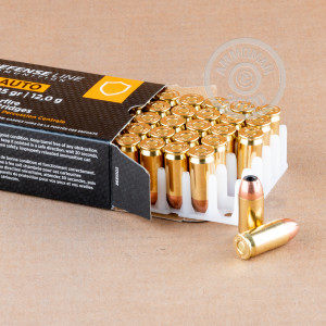 Image of .45 Automatic ammo by Prvi Partizan that's ideal for home protection, training at the range.