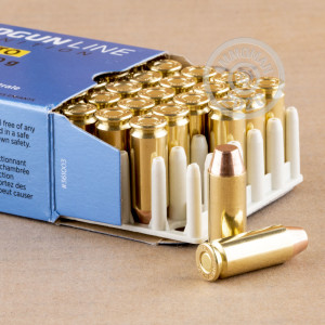 A photograph of 500 rounds of 170 grain 10mm ammo with a FMJ bullet for sale.