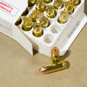An image of 38 Super ammo made by Corbon at AmmoMan.com.