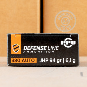 Image of .380 Auto ammo by Prvi Partizan that's ideal for home protection.