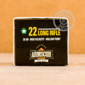ammo made by Armscor in-stock now at AmmoMan.com.