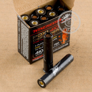 ammo made by Winchester with a 2-1/2