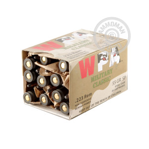 Image of 223 Rem - 55 gr SP - Wolf WPA MC - 500 Rounds