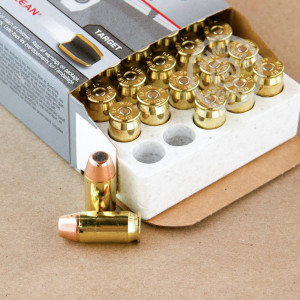 Image of .45 Automatic ammo by Winchester that's ideal for shooting indoors, training at the range.