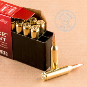 Photo of 243 Winchester V-MAX ammo by Hornady for sale.