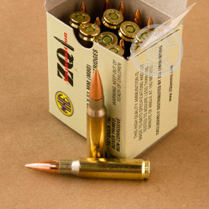 A photo of a box of ZQI Ammunition ammo in 308 / 7.62x51.