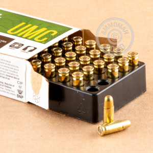 Photo of .25 ACP FMJ ammo by Remington for sale at AmmoMan.com.