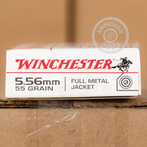 Image of 5.56 WINCHESTER 55 GRAIN M-193 FMJ (1000 ROUNDS)