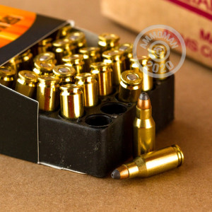 An image of .22 TCM ammo made by Armscor at AmmoMan.com.