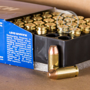 A photograph of 1000 rounds of 180 grain .40 Smith & Wesson ammo with a FMJ bullet for sale.