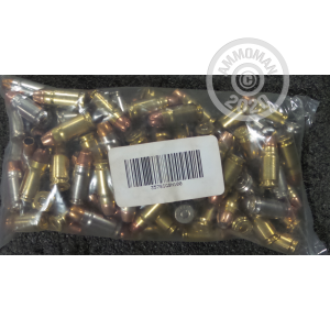 A photograph detailing the 357 SIG ammo with Unknown bullets made by Mixed.