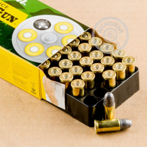 Photo of .38 S/W Lead Round Nose (LRN) ammo by Remington for sale at AmmoMan.com.