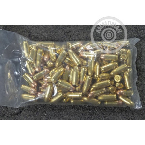 A photograph of 100 rounds of Not Applicable .380 Auto ammo with a Unknown bullet for sale.