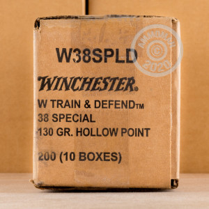 Photo of 38 Special JHP ammo by Winchester for sale at AmmoMan.com.