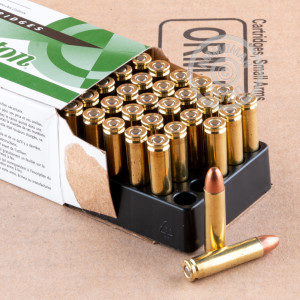 Image of .30 Carbine ammo by Remington that's ideal for training at the range.