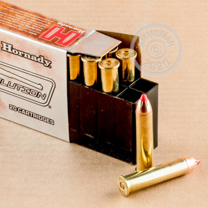 Image of the 45-70 GOVERNMENT HORNADY LEVEREVOLUTION 325 GRAIN FTX (200 ROUNDS) available at AmmoMan.com.