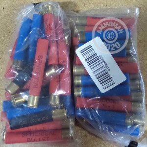 Unknown shotgun rounds for sale at AmmoMan.com - 25 rounds.
