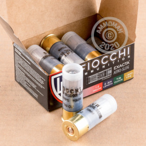 Rifled Slug shotgun rounds for sale at AmmoMan.com - 10 rounds.