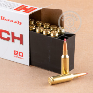 Image of the 224 VALKYRIE HORNADY 88 GRAIN ELD MATCH (20 ROUNDS) available at AmmoMan.com.