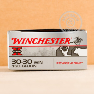 An image of 30-30 Winchester ammo made by Winchester at AmmoMan.com.