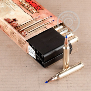An image of 300 Winchester Magnum ammo made by Barnes at AmmoMan.com.